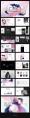 【杂志风】梦中的虚构主义PPT模板合集(4套)示例3