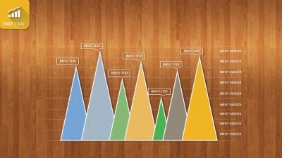 【木质纹理卡通风商务数据展示模板ppt模板】-ppt