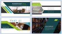 【设计感】清新简约杂志风PPT模板8示例3