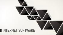 大气极简品牌推广实用PPT模板示例2