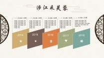 【禅意·中式】清雅中国风 实用 年终 商务报告模版示例7