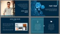 科技视觉商务模板3【简洁实用模板-34】示例7