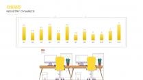 【黄色28】大气商务工作报告PPT模板【200】示例4