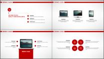 大气简约红白企业公司品牌推介PPT模板示例4