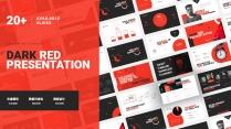 【厚黑紅II】高端簡約商務演示模板