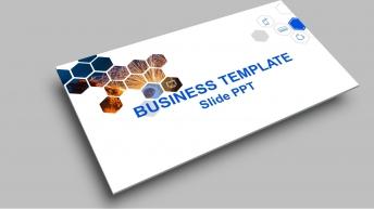 【精致简约】干净清爽蓝色经典商务实用PPT模板9示例2