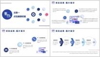 【总结报告】蓝色年终总结简约大气PPT模板示例5