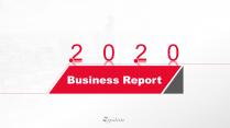 【极简商务】红白工作总结汇报商务通用模板06