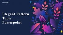文艺商务ppt模板:自然系 轻奢风 渐变紫