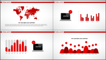 大气简约红白企业公司品牌推介PPT模板示例7