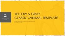 【极致商务】黄色简约风模板
