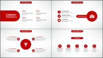 大气美观红色企业公司工作总结PPT模板三示例6