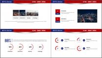 【商务大咖】红蓝简约公司企业项目工作汇报PPT示例4