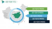 【Pantone Green】商务蓝绿年终总结模板示例5