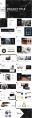 【春季清凉】大理石商务模板系列示例6