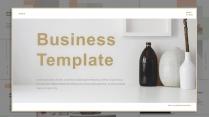 (017)輕奢商務高級極簡白色PPT模板