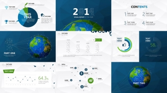 2014超实用大气简约可视化商务报告4示例5