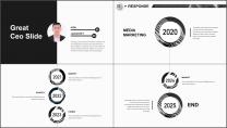 【商务大杀器】3D立体科技互联网公司企业工作PPT示例4