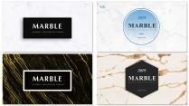 【简约商务】大理石创意排版多用途商务模板【含四套】