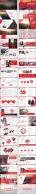 【LOVE RED】红色商务报告模板【八套合集】示例5