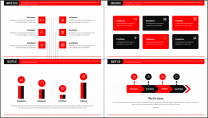 【商务大咖】红色画册建筑公司企业工作策划方案PPT示例6