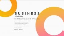 欧美商务风计划总结企业推介