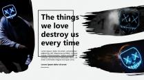 【纯黑】纯黑时尚模板示例5