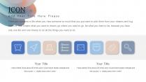 【立体粉彩】淡雅简约浅色调风格模板示例4