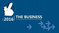 【PPT-给你好看】IT互联网商务蓝多用途模板