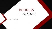 【精致商务】红色主题总结提案模板示例2