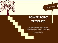 找寻方向-简洁-通用-工作总结汇报ppt模版