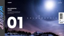 【躑躅】窺探夜景的全息鐳射示例2