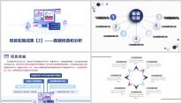 【总结报告】蓝色年终总结简约大气PPT模板示例6