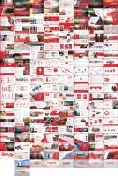 【LOVE RED】红色商务报告模板【八套合集】示例6