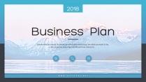 【完整框架】创意图文混排商业计划书策划书模板06