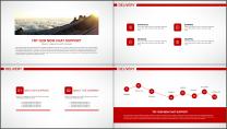 大气简约红白企业公司品牌推介PPT模板示例5