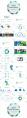 简约清新通用商务报告模板 第19-蓝绿示例3