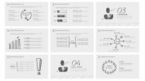 创意手绘风计划总结工作汇报商务演示通用设计示例4
