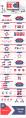 紅藍簡雅—高端工作總結計劃商務PPT示例4