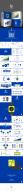 【蓝色商务通用模板】商务典藏动画版PPT看视频有惊示例8