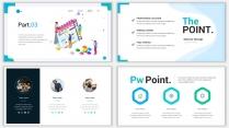 2018蓝色极简网页风PPT模板02示例6