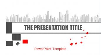 极具设计感的PPT模板