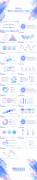 【MEIZU风】清透渐变蓝紫大气商务通用模板示例7