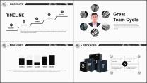【商务大杀器】3D立体科技互联网公司企业工作PPT示例7