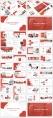 红色工作报告模板8套合集(5)【共196页】示例4