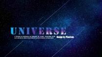 【宇宙派】超大气宇宙银河星空创意PPT.示例2