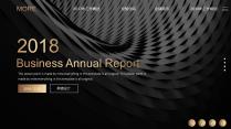 【欧美网页】高端黑金网页版式年终总结汇报2