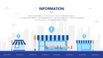 【商务】科技互联网扁平插画风企业工作PPT示例4