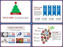 圣诞元旦双节大促PPT模板9示例5
