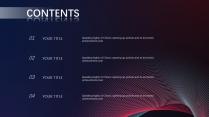 【红蓝渐变】高端简洁时尚几何商务报告模板示例3